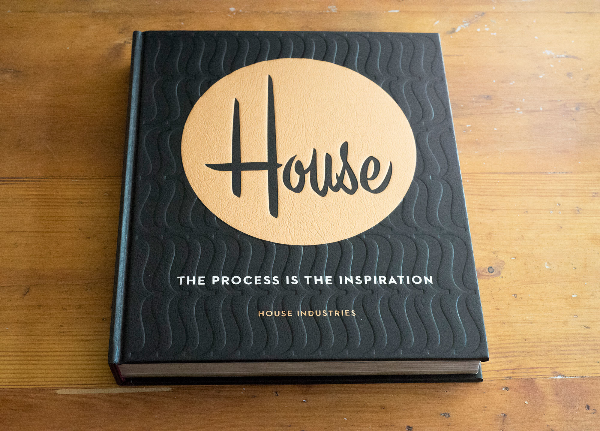Book of the Month House Industries The Process Is the