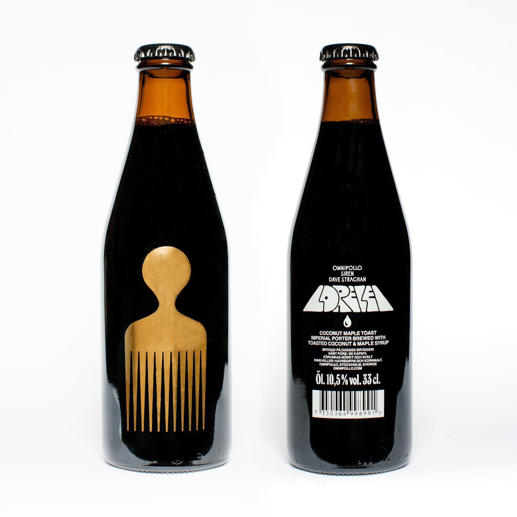 Omnipollo Bottle Lorelei Front Back