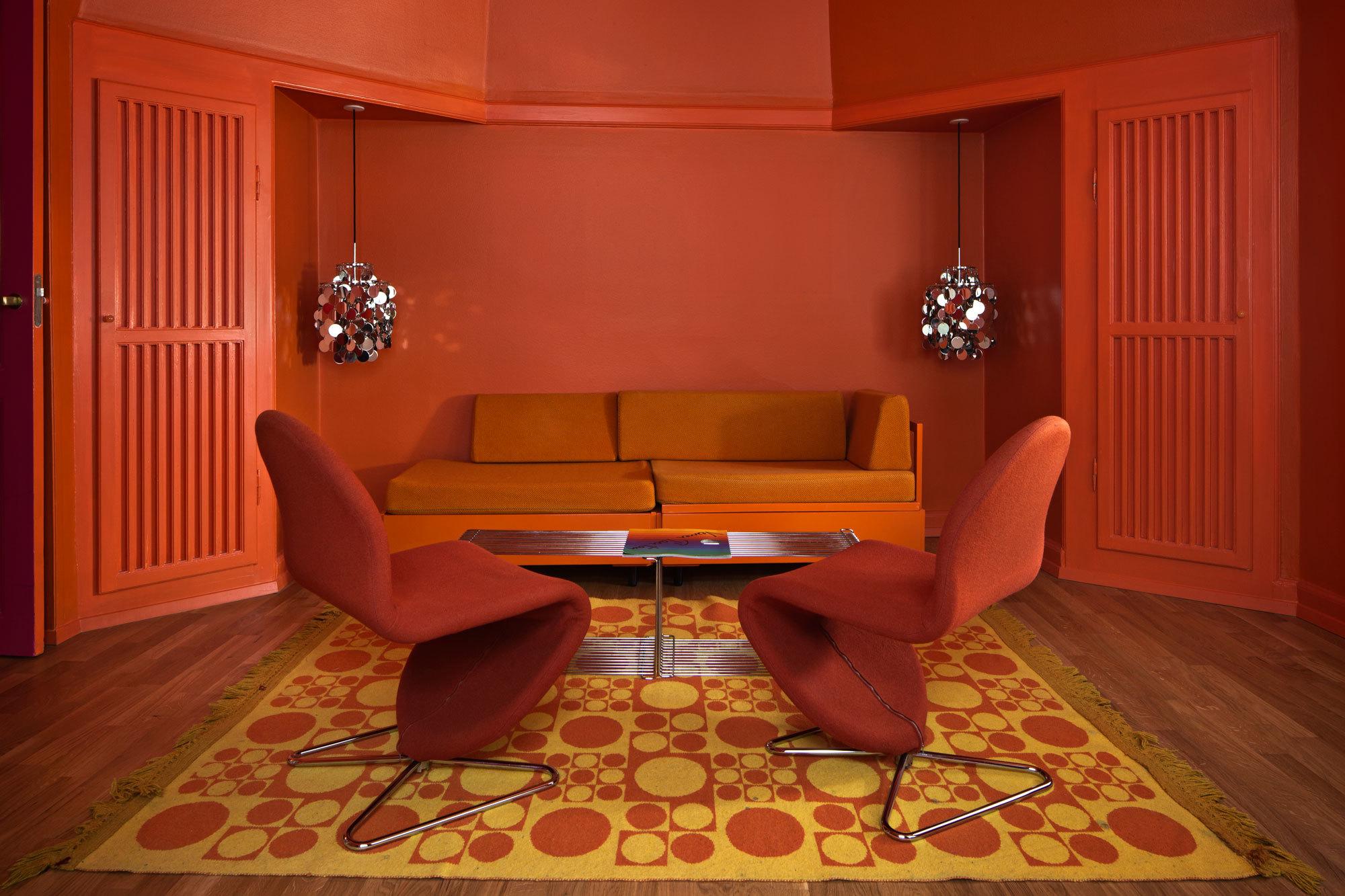 Verner Panton Suite Living Room
