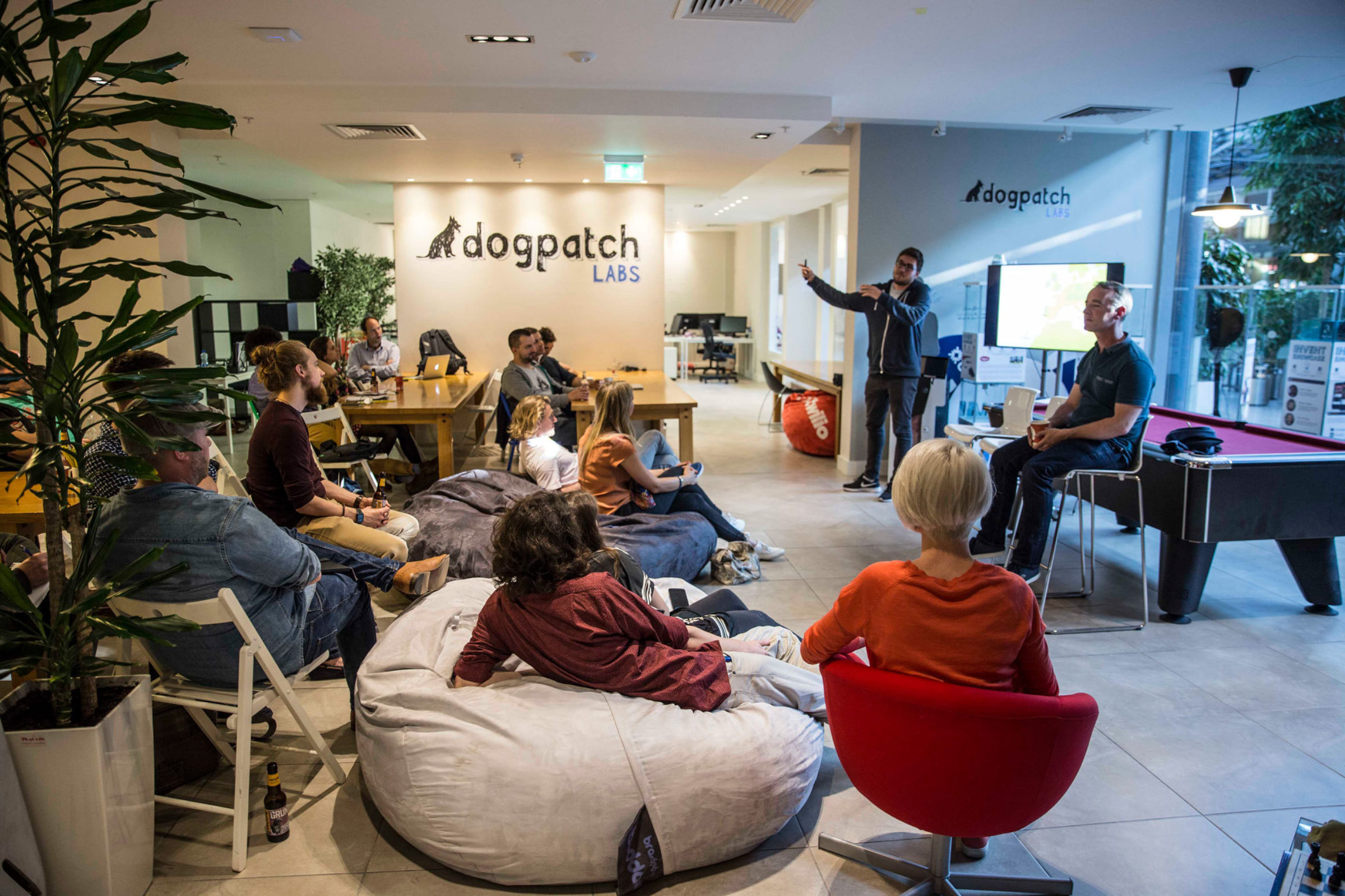 Creative Workspace Dogpatch Labs Dublin Lagom